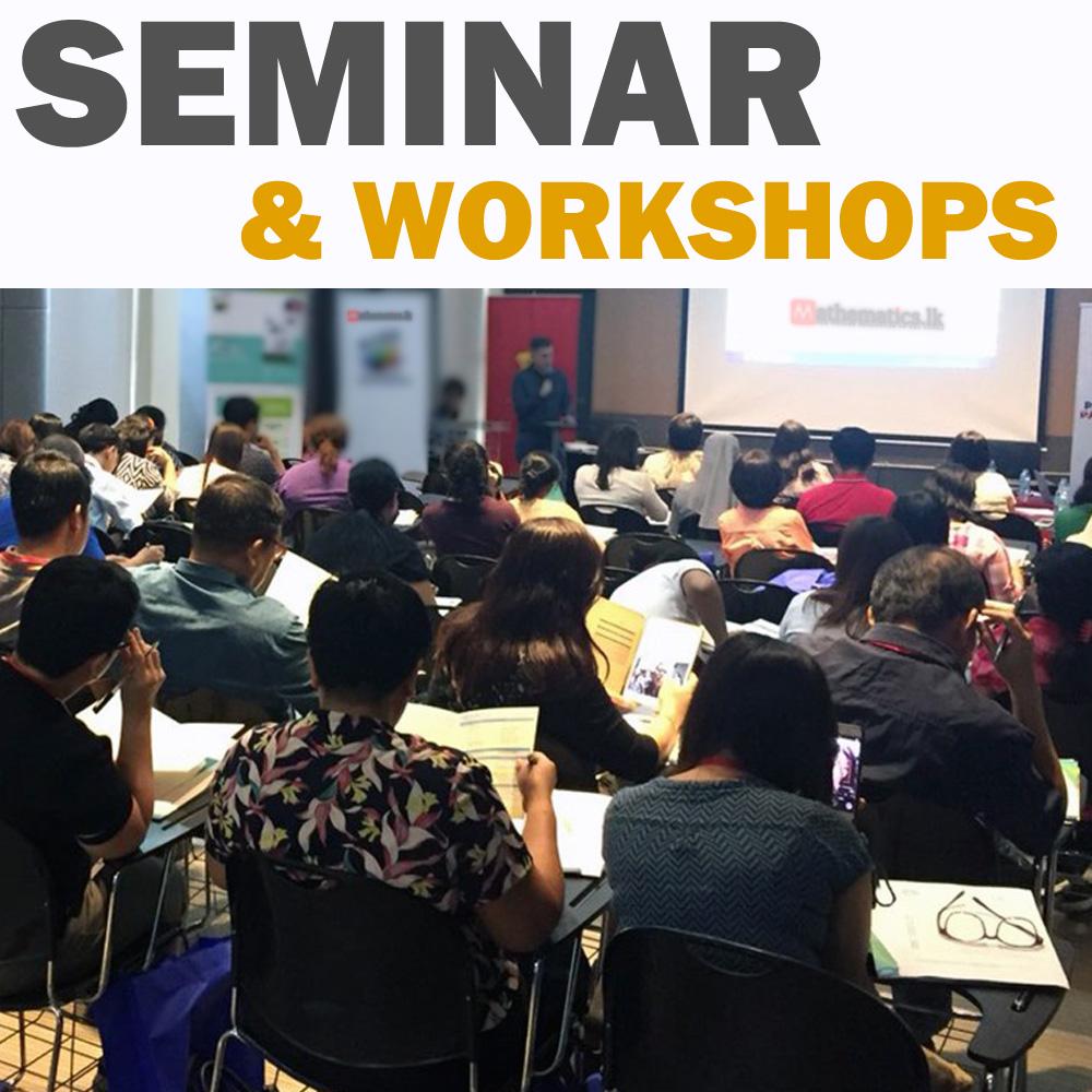 LEARNING METHODS Seminars & Workshops Mathematics.lk