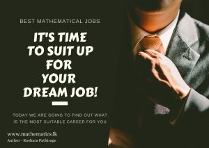 What are the best Mathematical jobs in Sri Lanka