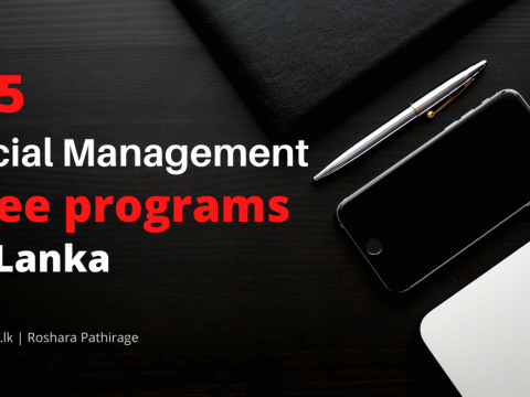 Top 5 Finance Management Degree programs in sri lanka