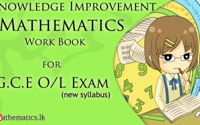 Knowledge Improvement Maths Paper For G.C